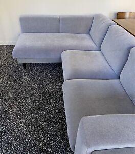 IKEA Nockeby 3 Seat Sofa Chaise
