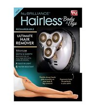 Nubrilliance Hairless - The Ultimate Painless Hair Remover for Body and Legs!