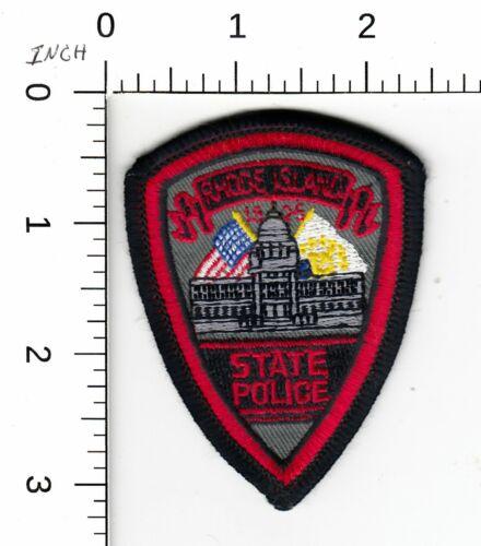 RHODE ISLAND STATE POLICE MINI HAT PATCH RI