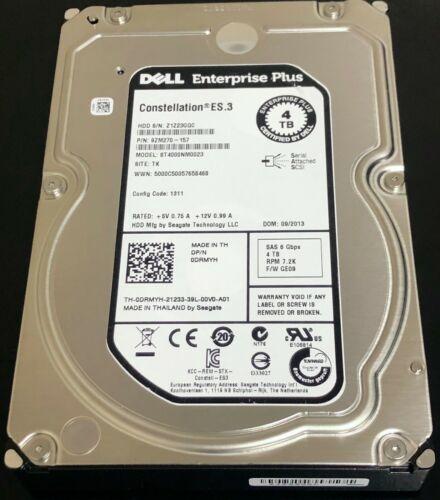 DRMYH 0DRMYH ST4000NM0023 DELL 4TB 7.2K 6G LFF 3.5