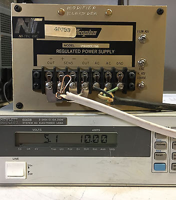 Acopian P06hx1200 Regulated Variable Dc Power Supply 0-6 Vdc 12a Load Tested