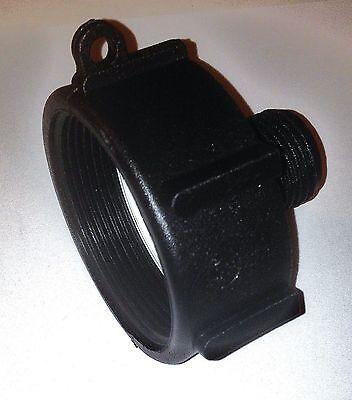 Ibc Tote 275   330 Water  Drain Adapter 2  Fine   2 Npt  X  3 4 Garden Hose 17