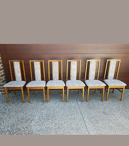 Dining chairs x 6 Roxburgh Park Hume Area Preview