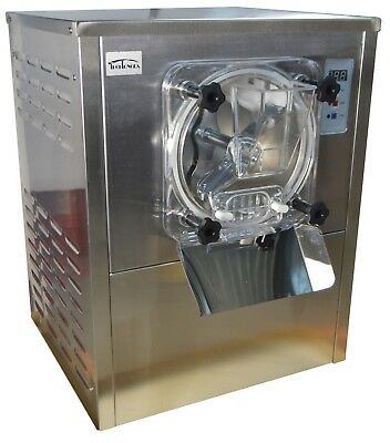 110v Commercial Hard Ice Cream Machine Frozen Ice Cream Maker12-20lh Used