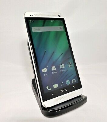 HTC One M7 32GB Grey Verizon Unlocked Good Condition Purple Cam Hue