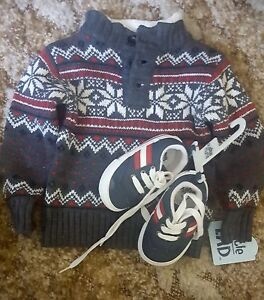 Brand new Unused baby sweater with  shoe