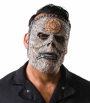 Slipknot Men Bass Adult Costume Slipknot Mask Gray Chapter Fancy Dress Halloween - Bass Costume