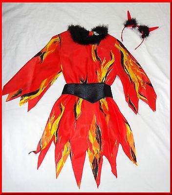 - Feuer Haar Kostüm