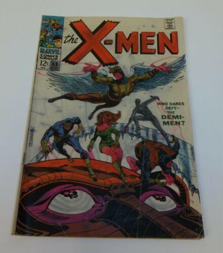 X Men Demi Men 49 Oct 1968 Comic Book Seranko Cover