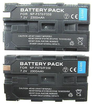 2x Battery For Sony Hvr-v1u Hvr-z1u Hvr-z5u Hvr-z7u Hdv D...