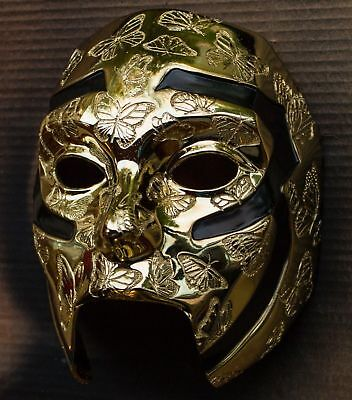 Johnny 3 Tears FIVE (Gold) (performance) mask from Hollywood Undead - Hollywood Undead Mask