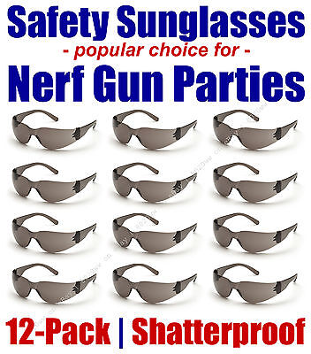 12-Pack Safety Sunglasses popular for Nerf Gun Kids Party - INTGRY