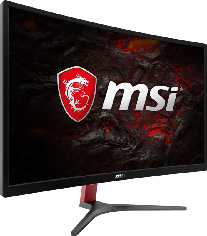 """MSI Optix G24C 23.6"""" FHD Curved Gaming Monitor, 144Hz, Wide View"""