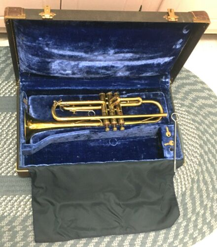 OLDS LOS ANGELES BRASS 1954 SPECIAL TRUMPET ORIGINAL CASE CLASSY GREAT COMPRESS