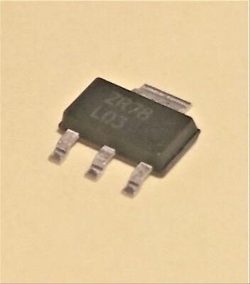15-piece Tape Of Zr78l03gta From Zetex Sot-223 200ma 3v Positive Regulator