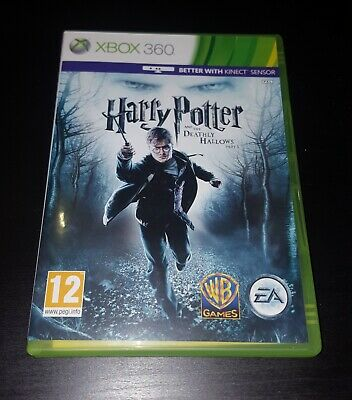 Harry Potter and the Deathly Hallows - Part 1 Microsoft Xbox 360 Game, VGC