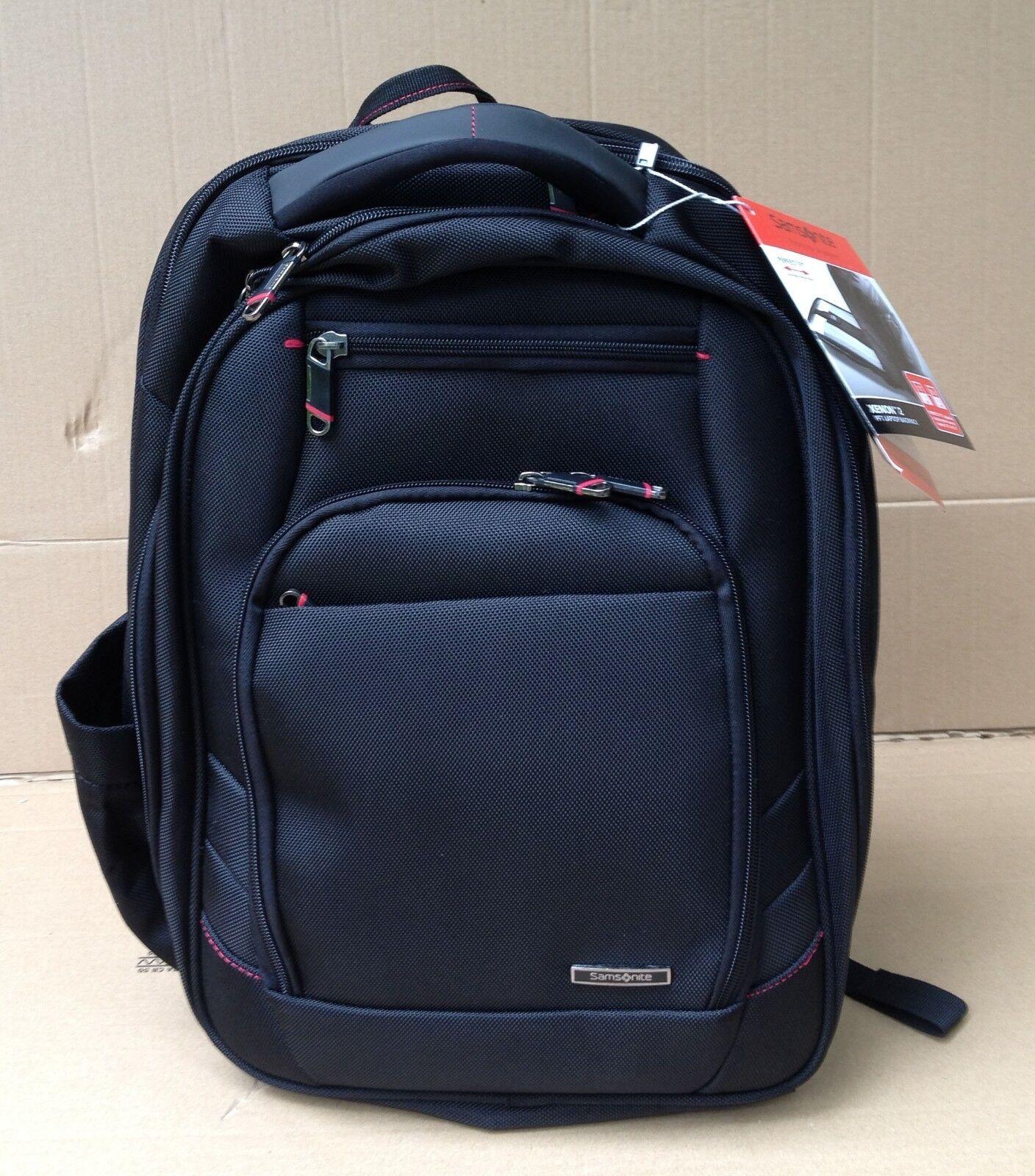"Samsonite - Xenon 2 Laptop Backpack Black w/ 13-15.6"" Laptop"