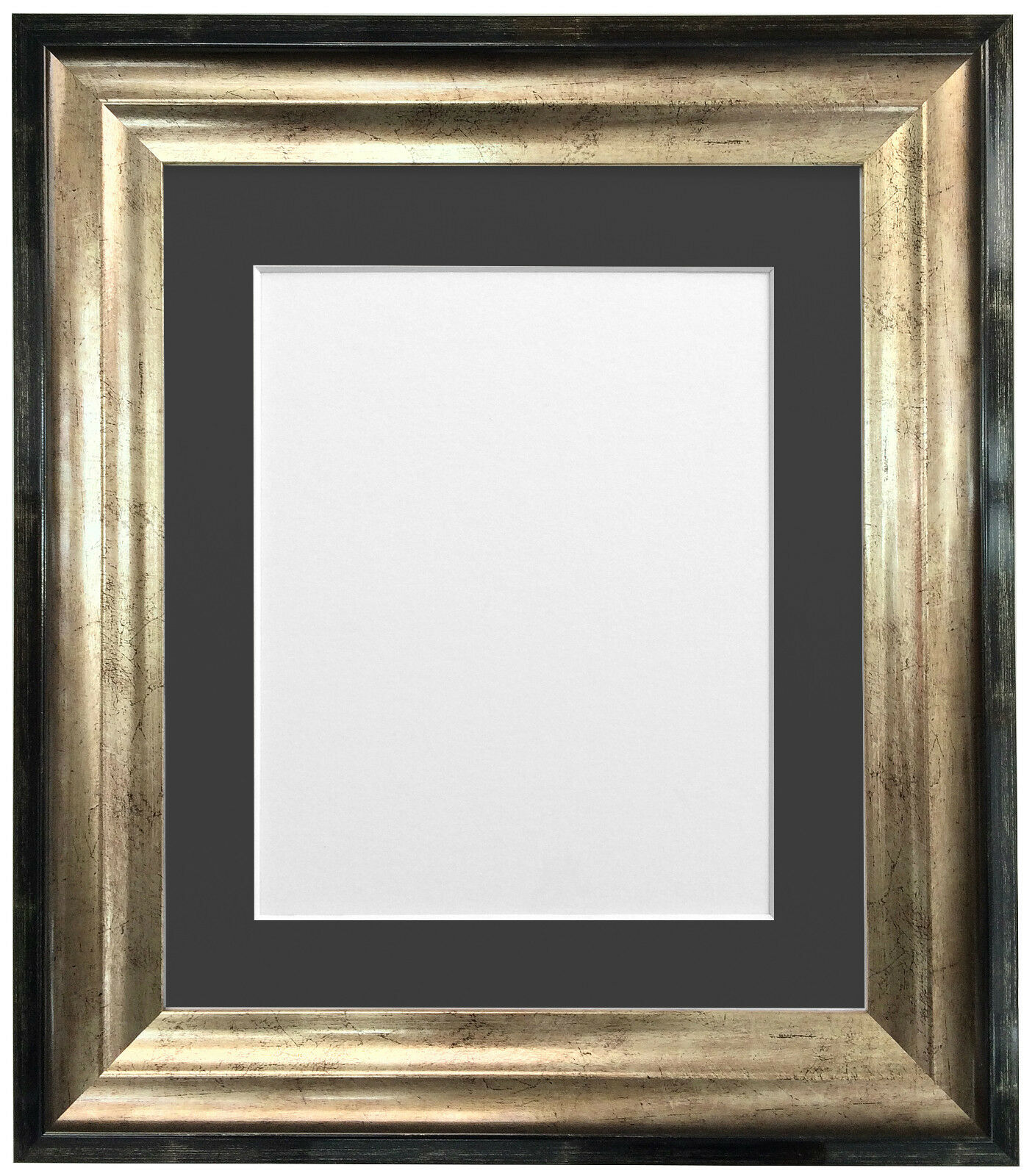 Firenza Black Amp Gold Picture Photo Frame With Quality Acid
