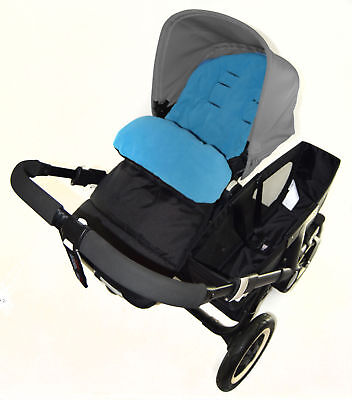 Footmuff / Cosy Toes Compatible with Stokke Crusi Pushchair Ocean Blue