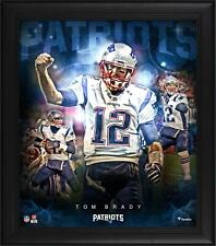 Tom Brady New England Patriots Framed 15 x 17 Stars of the Game Collage