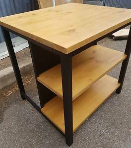Solid timber made to order kitchen island/bar table