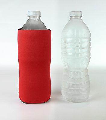 Water Bottle Koozie Blank Fits 20 Oz Water And 16 Oz Soft Drink Bottles