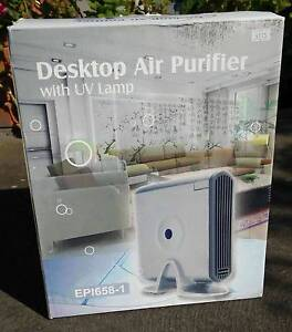 DESKTOP AIR PURIFIER with UV lamp, completely SILENT Ormond Glen Eira Area Preview