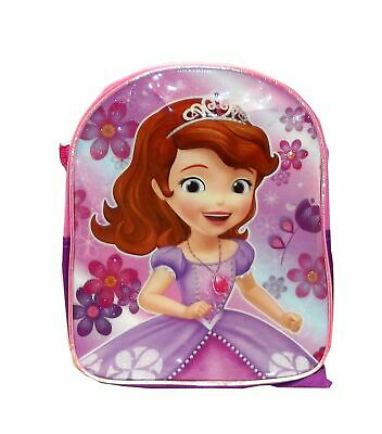 Disney Glitter Miniature Backpack, 10.5 X 8.5 inches (Sofia the First) - Sofia The First Backpack
