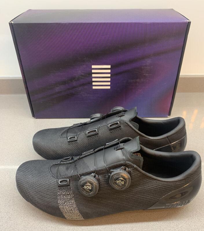 Rapha Pro Team Cycling Shoes Black Size 9 UK 43.5 EU Brand New Boxed