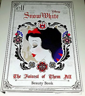 Elf Disney Snow White Beauty Book Makeup Palette   Cosmetic Bag   Le 2014  New