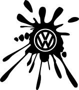 VW Car Stickers