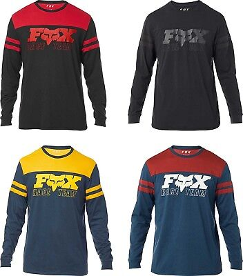 Fox Racing Team Long Sleeve Airline T-Shirt  - Mens Tee Fox Racing Airline