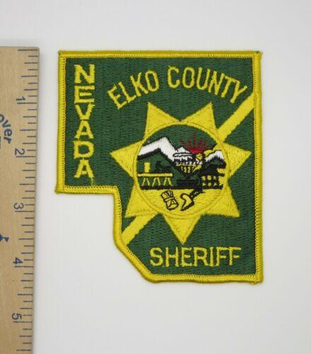 ELKO COUNTY NEVADA SHERIFF PATCH Vintage Original