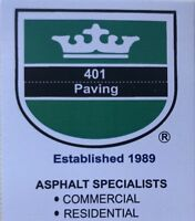 Emergency asphalt paving repairs and patch work!