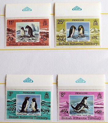 British Antarctic Terr.  –  Penguins Set – UM (MNH) (R4)