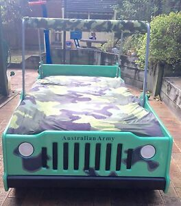 Jeep car bed Glenbrook Blue Mountains Preview