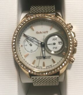 Watch — GANT Women's adjustable silver band