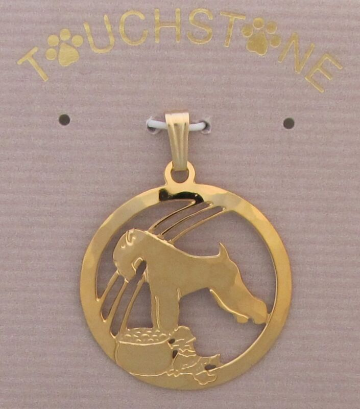 Soft  Coated  Wheaten Terrier Jewelry Pendant by Touchstone