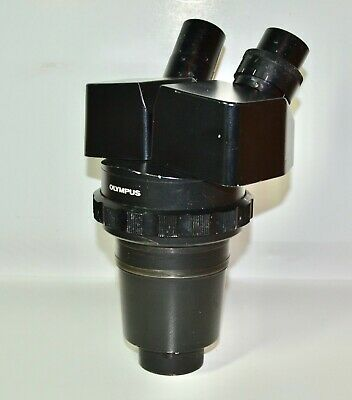 Partsrepair Olympus Vm Vmz 1x-4x Black Stereo Binocular Zoom Microscope Head