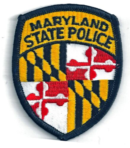 MARYLAND STATE POLICE - SHOULDER - IRON ON PATCH