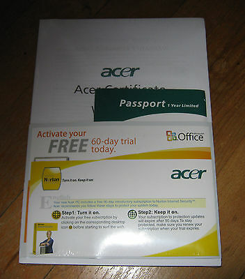 Acer Aspire 5520 5220 Laptop Notebook Computer User's Guide Manual for sale  Shipping to India