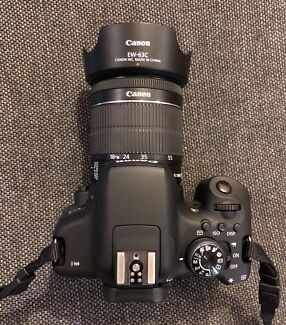 Canon 750d used- liked New for Sale