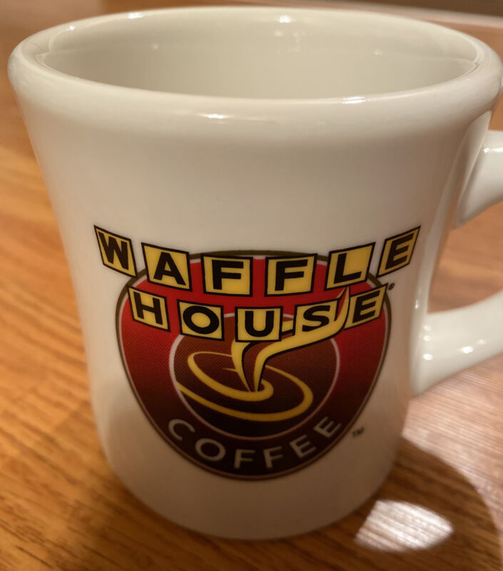 Authentic Waffle House Coffee Mug Ceramic Advertising Excellent Condition