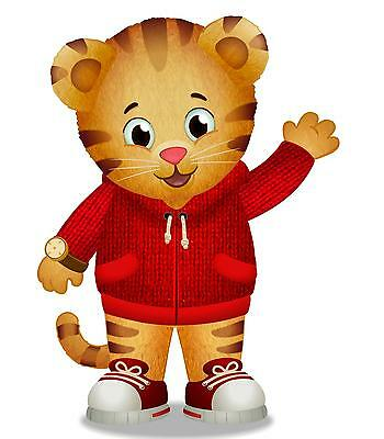 Daniel Tiger Iron On Transfer 4.75