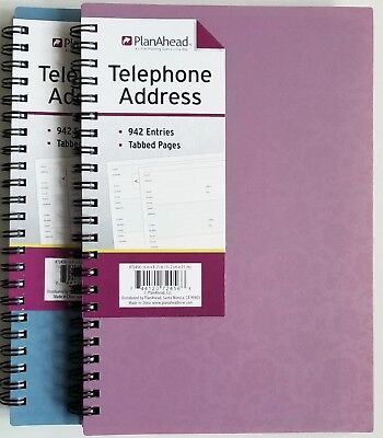PlanAhead Address Telephone book #72456 with Tabbed Pages 6