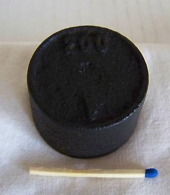 Altes Gewicht für Waage Handel Eisen 200 Gramm (3)