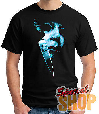 T-Shirt Michael Myers-Halloween-Slasher Film Junge / A / Hosenträger / Kind
