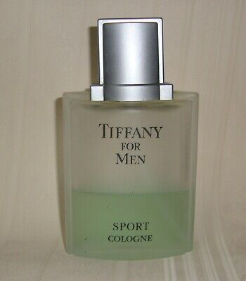 TIFFANY FOR MEN SPORT COLOGNE BY TIFFANY & CO 100ml/ 3.4oz USED,40% Full, NO (Tiffany Sport For Men)