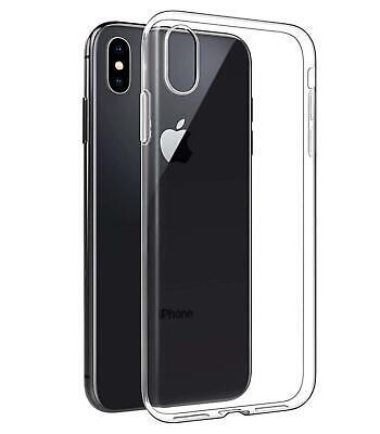 475bd7633cf Funda de gel TPU carcasa protectora silicona para movil Iphone XR  Transparente