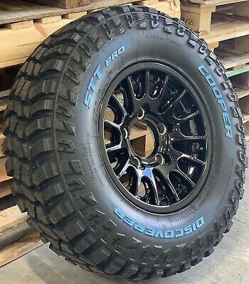 """NEW Bowler Motorsport 16"""" Alloy Wheels with Cooper STT Pro Tyres x4 Land Rover"""